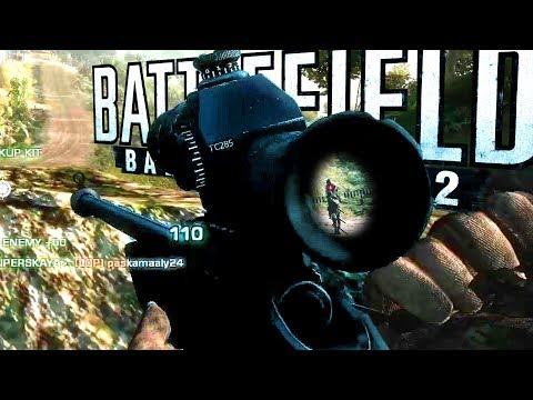 SV98 SNIPER: 13 K/D | Battlefield: Bad Company 2