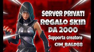 🔴Live Fortnite Server Privati *NOROBOT* TORNEO SKIN 2000 3 WIN - Cod Cre CIM_BALD88