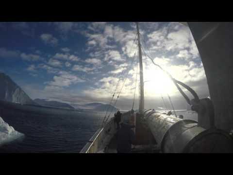 Sailing Amongst Icebergs (4K) - Ilulissat, Greenland