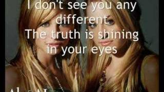 Aly & AJ - Never Far Behind [with lyrics]