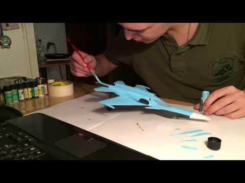 видео: Ускоренная сборка модели фирмы Звезда СУ-32ФН