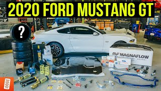 Building and Heavily Modifying a 2020 Ford Mustang GT: Part 1: SHOPPING SPREE!