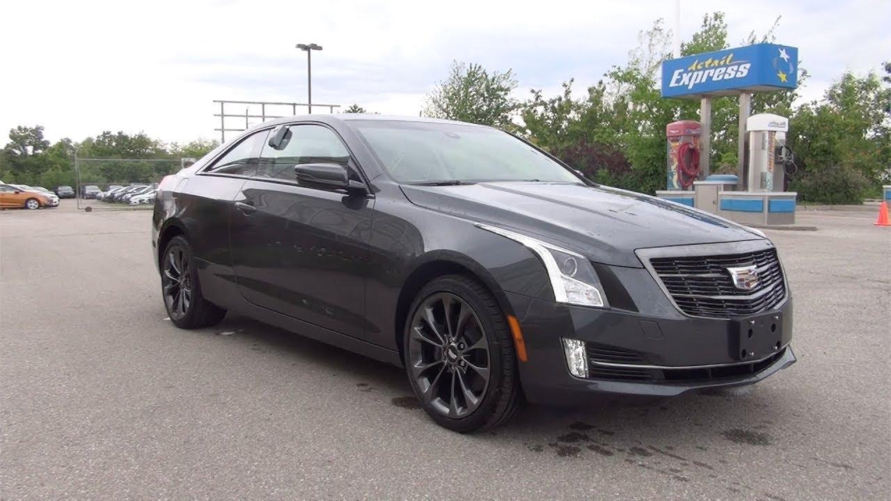 Cadillac Ats Rims >> 2017 CADILLAC ATS COUPE AWD TURBO - PHANTOM GRAY - YouTube