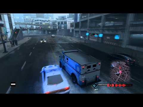 Watch Dogs Fast Cash Transport Pursuit