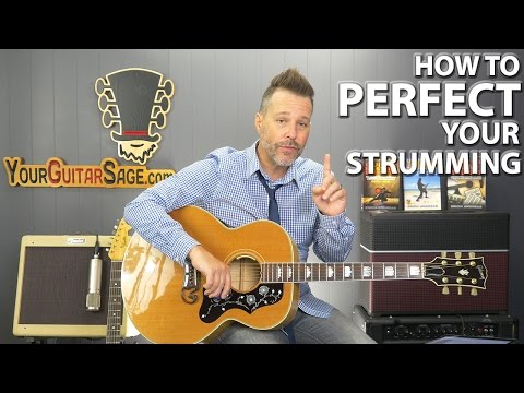How to Perfect Your Strumming Without Ever Finding Yourself Out of Sync