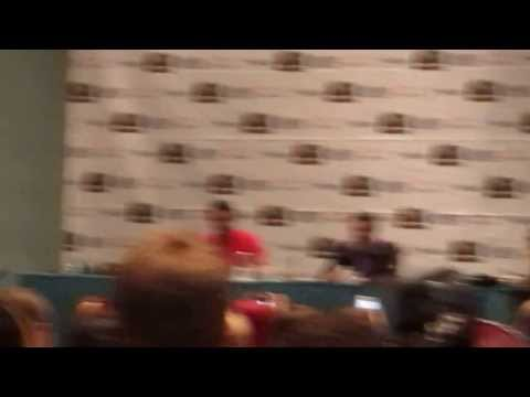 James Phelps' American Accent at Chicago Comic Con 2013