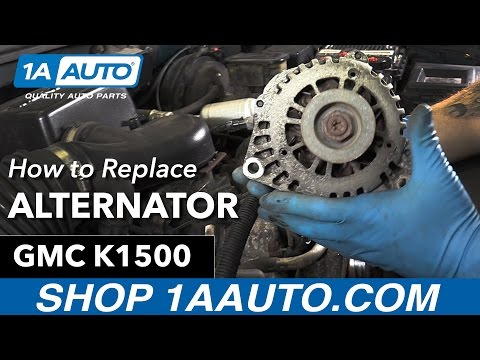 How to Replace Alternator 96-99 GMC Sierra K1500 5.7L