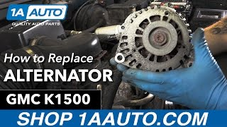 How to Replace Install Alternator 1996 GMC Sierra K1500 Buy Quality Auto Parts at 1AAuto.com