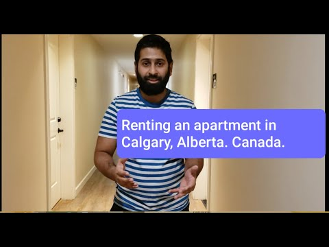 Renting an apartment in Calgary, Alberta, Canada. How much is the rent? November 10, 2020