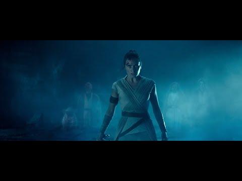 STAR WARS Rise Of Skywalker- Rey Vs Palpatine (Force Ghost Edit)