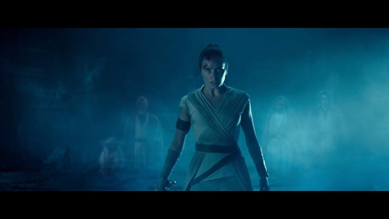 Star Wars Rise Of Skywalker Rey Vs Palpatine Force Ghost Edit Youtube