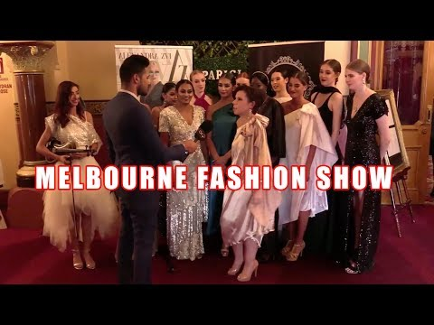 Melbourne fashion show