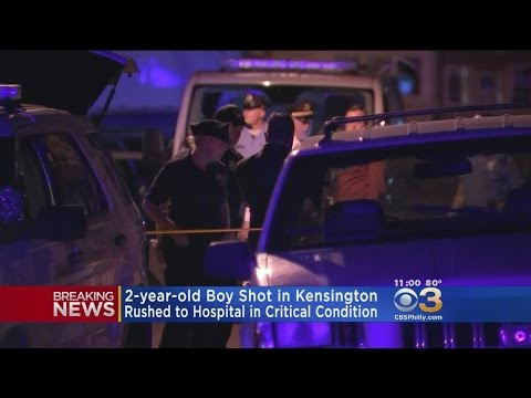 2-Year-Old Boy Shot Four Times In Philadelphia