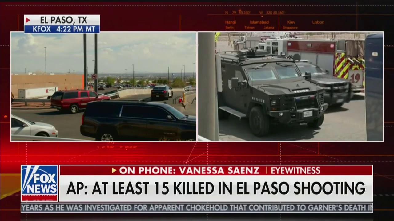 Suspect in custody after 20 people killed in El Paso Walmart