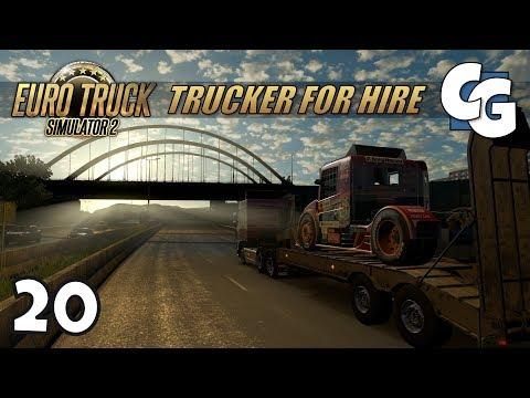 [ETS2] Trucker for Hire - Ep. 20 - Google Maps Navigation for ProMods - ETS2 ProMods 2.20 Let's Play