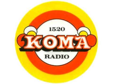 KOMA 1520 Oklahoma CIty - Charlie Stone DJ, Summer 1976