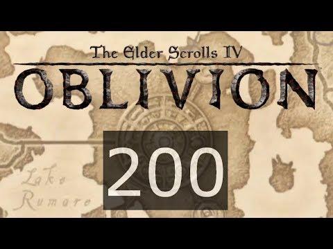 TES IV Oblivion #200 Скованный льдом сон и Предсмертный поцелуй