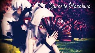 【MMD】 Yume to hazakura (Inuyasha) with Sesshomaru and my OC model!