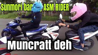 ASM RIDER BERULAH,minta duit orang gak di kenal_Motovlog indonesia