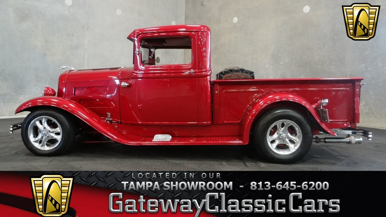 1932 Ford Model A Pickup - YouTube