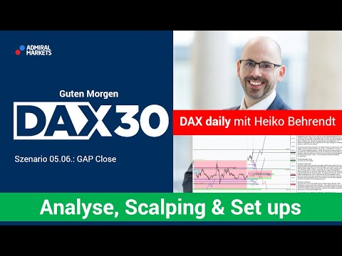 DAX aktuell: Analyse, Trading-Ideen & Scalping | DAX30 | CFD Trading | DAX Analyse | 05.06.2020