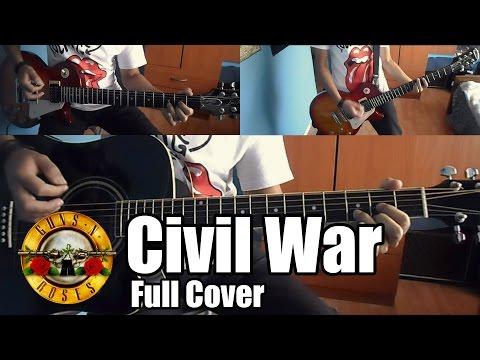 Guns N' Roses Civil War Full Cover | With lyrics (sub español)