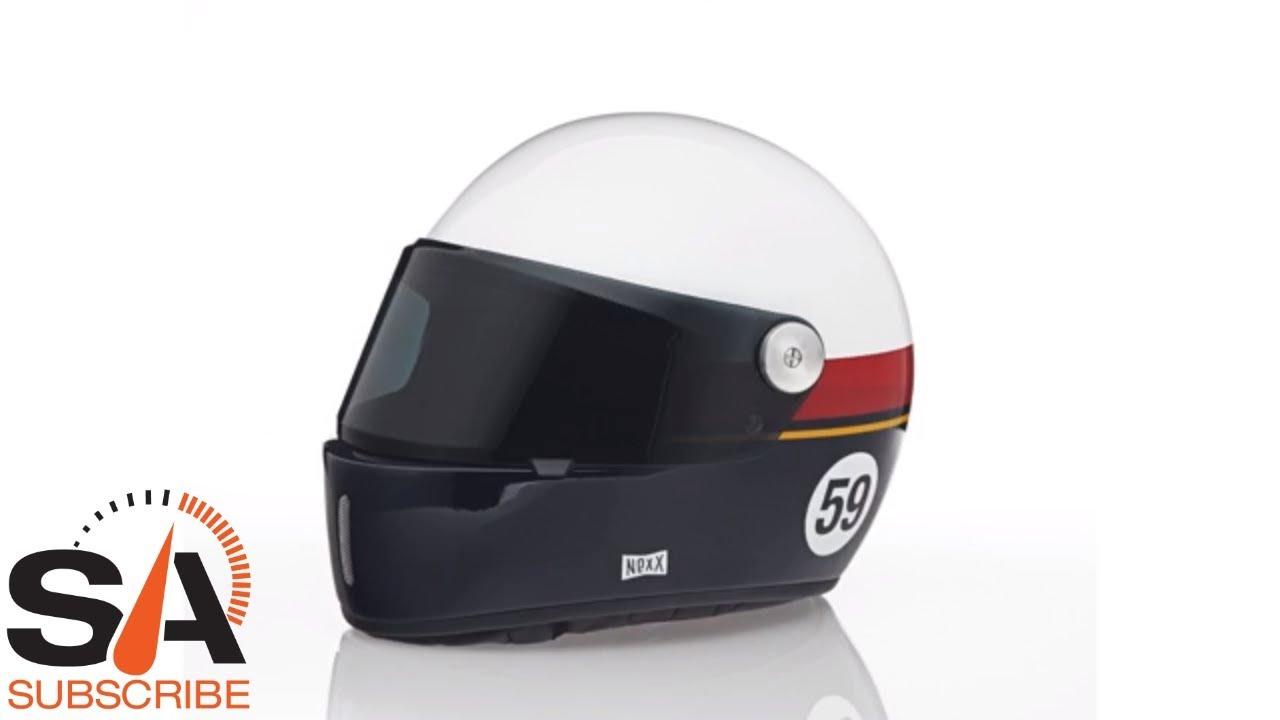 6b23bf98 NEXX XG100R Grandwin White Blue Helmet at SpeedAddicts.com - YouTube