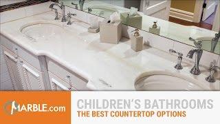 Best Materials for Children's Bathrooms