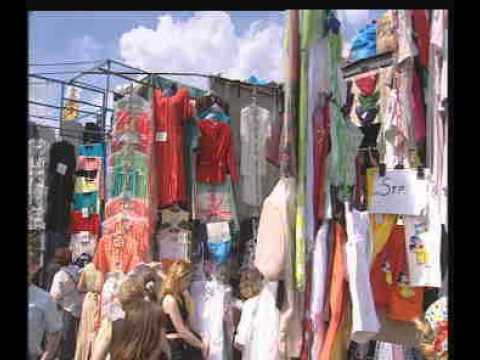 Рынок в Лужниках 1997