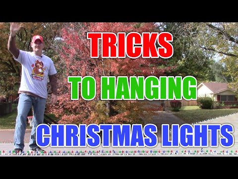 Tricks to hanging Christmas lights in trees: DIY tricks to save you time