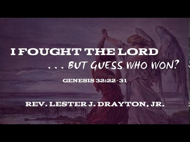 I Fought the Lord, . . . but Guess Who Won?