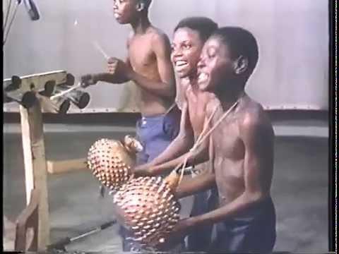 Mick Fleetwood In Ghana (Excerpt - Young Drumming Troupe)