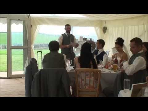 If Carling did best man speeches...