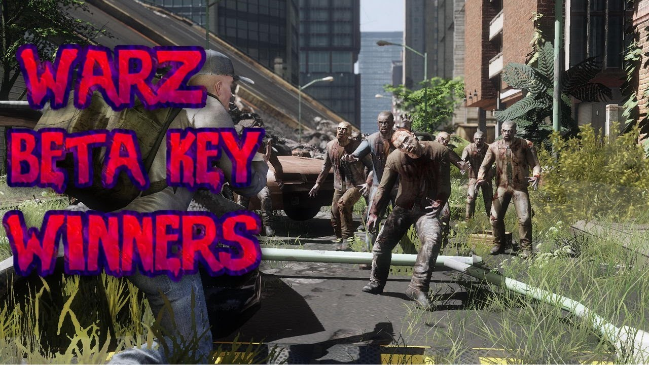 The war z beta giveaways