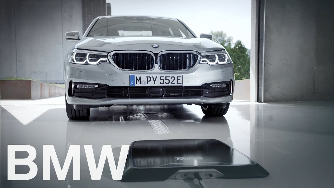 BMW Wireless Charging. Car charging in 35 hrs. without a cable.
