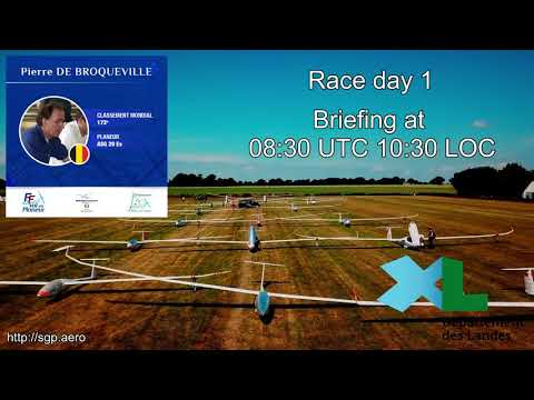 SGP France - Race day 1 - Briefing