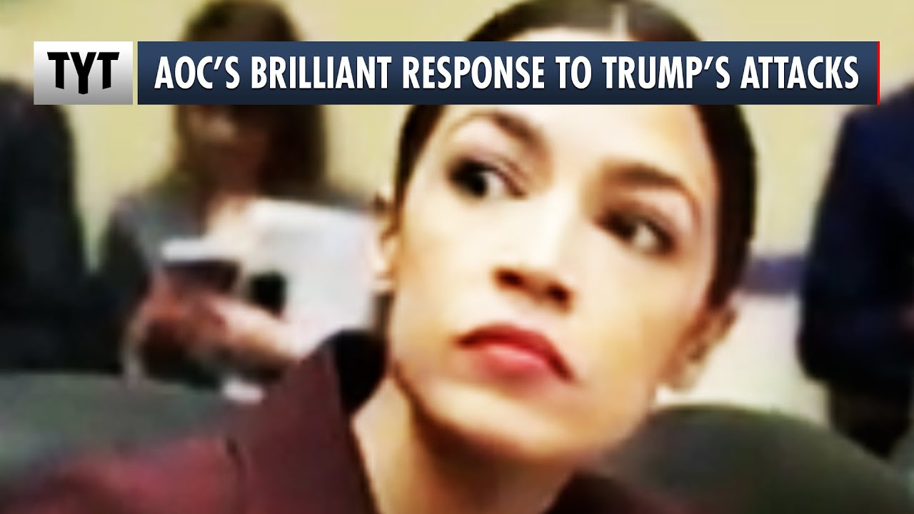AOC's BRILLIANT Response To Trump's Racist and Sexist Attack on Her