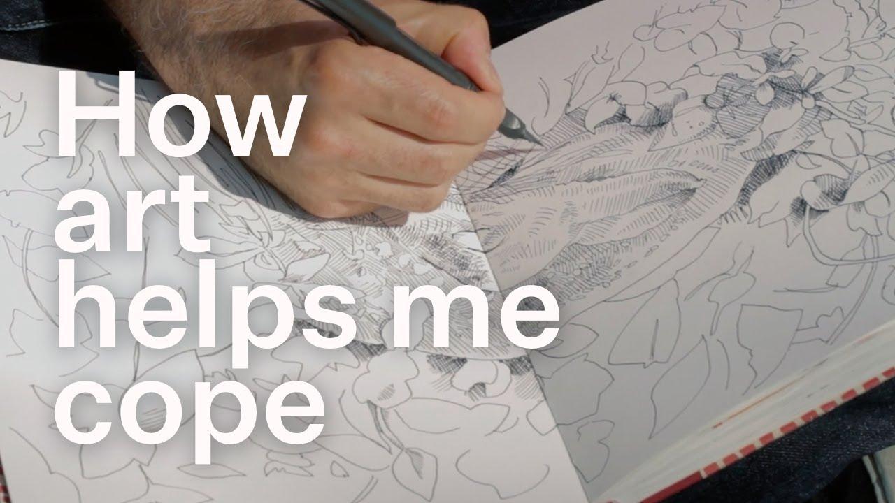 How art helps me cope