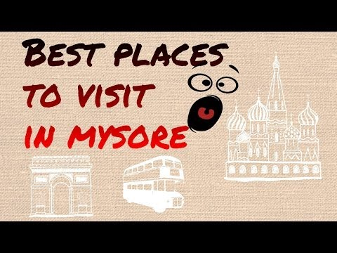 Places to visit in Bangalore Mysore