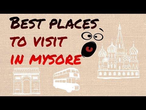 Places to visit in Bangalore Mysore