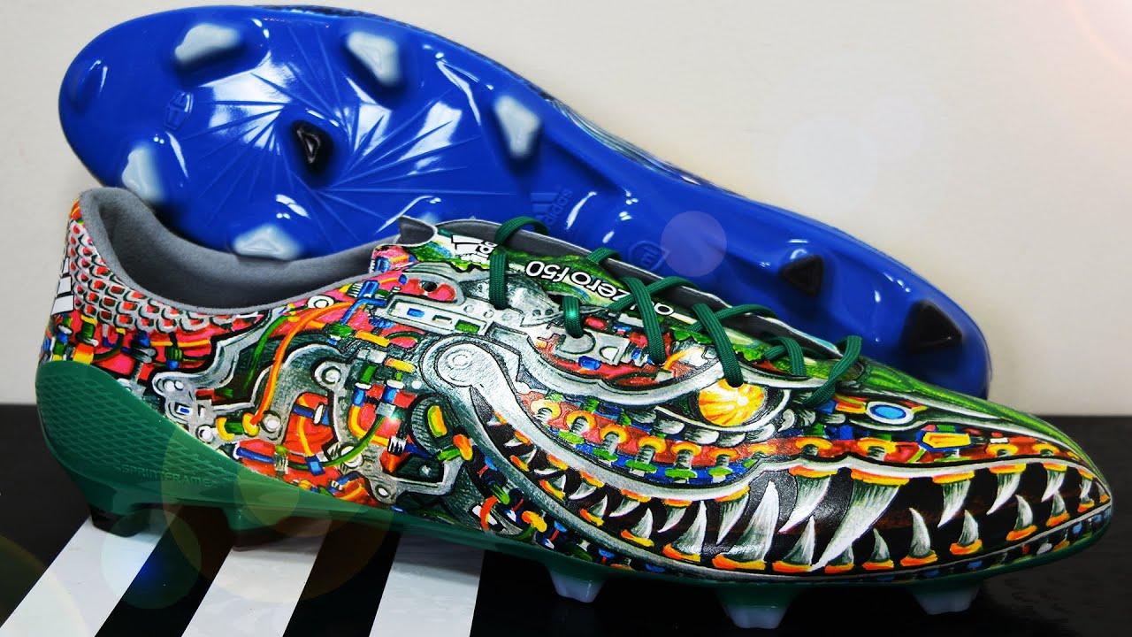 2014 adidas F50 adizero FG Yamamoto Blue/Green - Limited Edition Football  Boots - YouTube