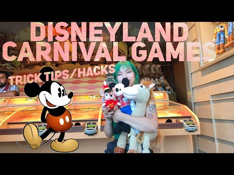 Disneyland Carnival Games Trick Tips/Hacks