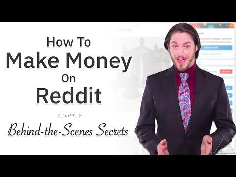 How to make money online today reddit