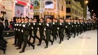Армия Китая на репетиции парада Победы в Москве 04.05.2015