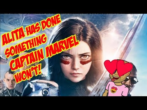 What Alita has done, that Captain Marvel Isnt? (Geek Talk EP.3)