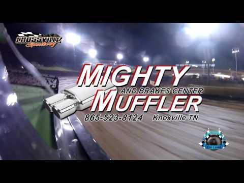 #77 Michael Cook - Sportsman - 5-19-17 Crossville Speedway - In-Car Camera