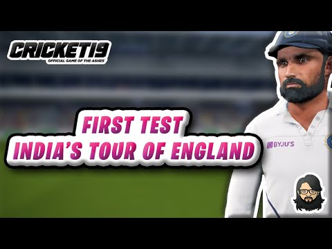England 🇬🇧 Vs India 🇮🇳 - 1st Test 🔴 - Part 3️⃣ - Cricket 19 Live ❤️