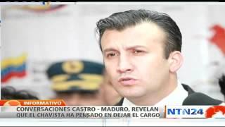 Maduro estaría pensando en renunciar a su cargo, según conversaciones conocidas por el ABC de España