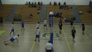 Acton Boxborough Varsity Boys Volleyball vs Winchester 4/22/13