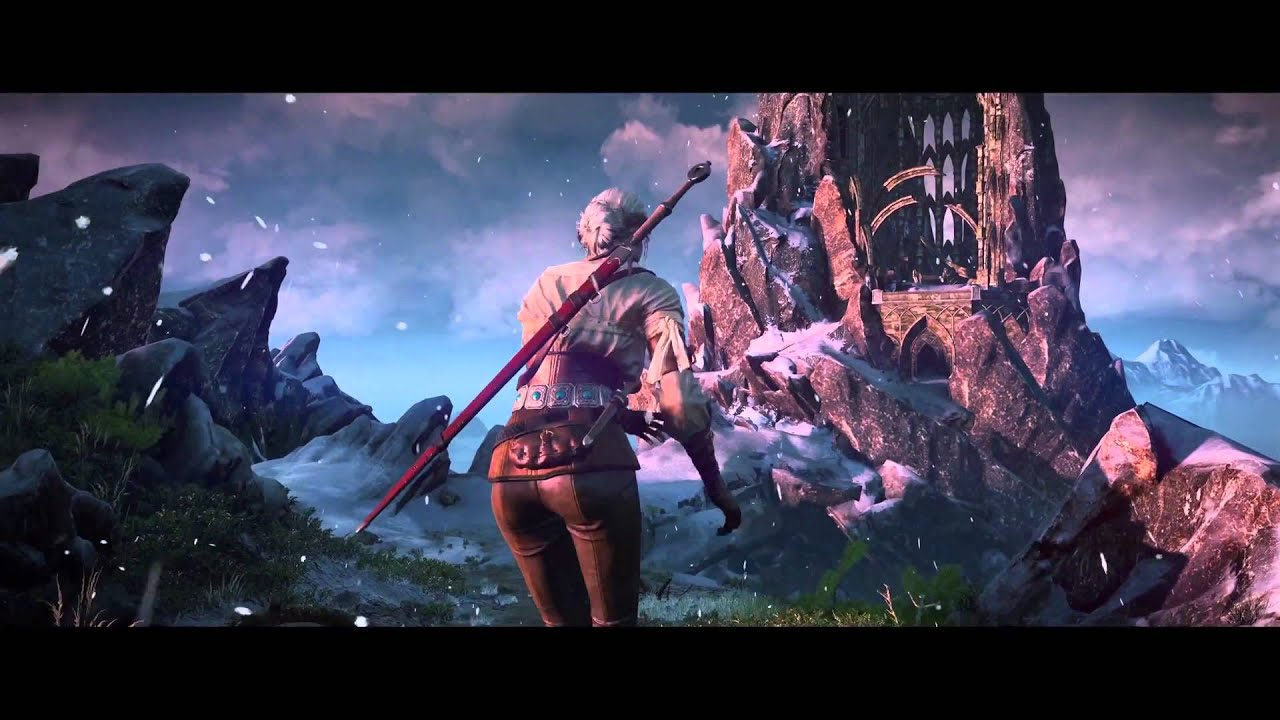 The witcher 3 wild hunt trailer 4k youtube - The witcher wallpaper 4k ...